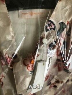 Tn-o $ 375 Conservateur Burch Burnout Shell Top Cravate Ivory Mount Paisley Taille Doublé 4