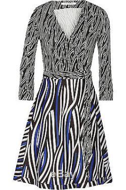 Tn-o $ 485 Diane Von Furstenberg Dvf Amelia Robe Portefeuille 14