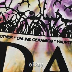 Tn-o Céramique En Ligne Humankind À La Fois Tie Dye Logo T-shirt M Es19 Ds Authentique