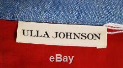 Ulla Johnson - Top Asymétrique En Coton À Fleurs Multicolore Et Plis Sur Le Devant 2