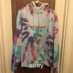 Uncivilised Tie Dye Hoodie