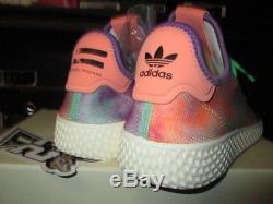 Vente Adidas Tennis Hu Holi Festival Tie Dye Multicolor Ac7366 Nouveau Pharrell Nouveau