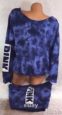 Victoria's Secret - Pull À Col Ras Du Cou Et Nœud Papillon Avec Des Shorts Assortis Taille S