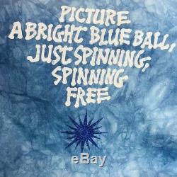Vintage 1995 Liquid Blue Grateful Dead Tie Dye Doublez Le T-shirt Taille Xlarge