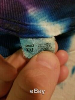 Vintage 1996 Tour Vtg Rare Dye Alanis Morissette Tie T-shirt Tee Grunge Bande 90