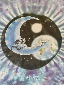 Vintage Années 90 Très Rare Grateful Dead Moon Space Tie Dye 1994 Tour XL T-shirt USA
