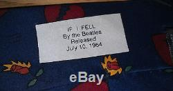 Vintage Beatles Tie If I Fell Est Sorti Le 10 Juillet 1964