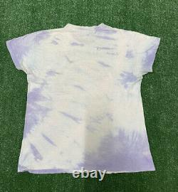 Vintage Grateful Dead 1976 Steal Your Face T Shirt Tie Dye Band Tee Sz Large 70s