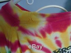Vintage Grateful Dead Tie Dye 1992 T-shirt De Basket-ball Lituanie Taille Grande Ou XL