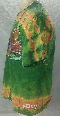 Vintage L Grand Rasta Michelangelo Chapelle Sixtine 94 Mikio T-shirt Tie Dyed Tee