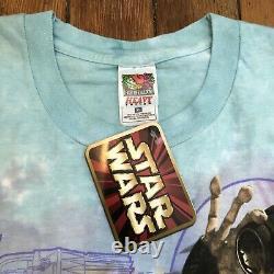 Vintage Star Wars Episode 1 Sebulba Pod Racer Tie-dye T-shirt Nwt Taille XL