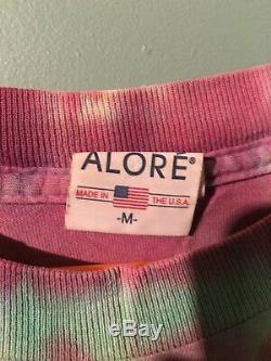 Vintage Trinity Grateful Dead Stealie Tie Dye Shirt Taille Moyenne