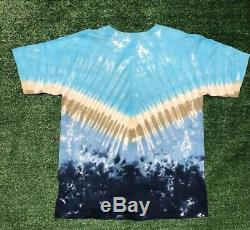 Vintage Walt Disney World Splash Mountain Magic Kingdom Tie Dye T-shirt Taille L