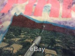 Vtg Années 90 Pink Floyd Tie Dye Division Bell 1994 Tour Concert T-shirt M USA