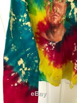 Westside Gunn Wsg Benoit Tie Dye 4ème Corde Sweat À Capuche Gxfr Rebirth Rare @ 100 Conway